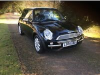 Mini one (auto) full service history,33k miles one owner,04 plate
