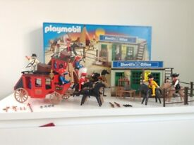 Sherrif Office Playmobil Boxed vgc