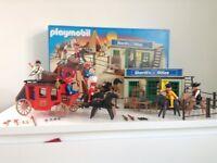 Sherrif Office Playmobil Boxed vgc