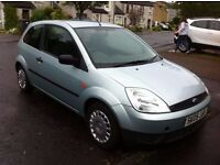 05 Ford Fiesta 1.25 Finesse - Low Mileage, Road Taxed till April, Great Condition