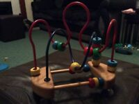 Suction Baby bead toy