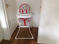 BRAND NEW CHILDS HIGH CHAIR
