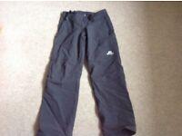 Ladies Mountain Equipment walking trousers size 8-10