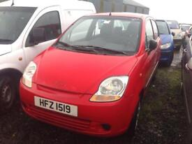 2005 CHEVROLET MATIZ 1.0 PETROL BREAKING FOR PARTS ONLY POSTAGE AVAILABLE NATIONWIDE