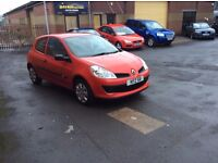 2007 RENAULT CLIO 1.5 dci FSH TIMING BELT & FULLY SERVICED