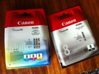 Unopened Canon Ink Cartridges