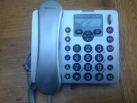 Telephone for hard of hearing