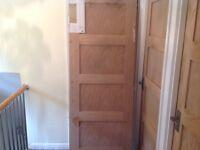 Brand New Shaker 4 Panel Oak Veneer Door.