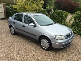 VAUXHALL ASTRA 1.6 ONLY DONE 50k