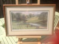 High tee golf