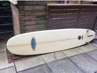 Nigel Semmins surfboard