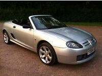 mg tf 1.6 petrol convertible 04 reg power steering, cd player, alloys, genuine 67000 miles