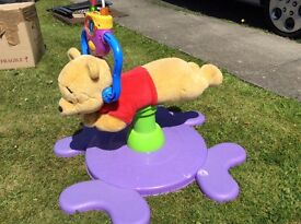 Winnie the Pooh Bounce and spin