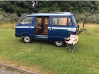 NISSAN VENTTE DEVON CAMPER 2 BIRTH, 2.0 LITRE DEISEL, IT HAS BEEN WELL CARED FOR, LOADS OF HISTORY