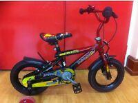 """Boys beginner bike - refurbished 12"""" Diablo"""