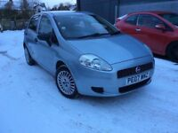2007 Fiat Punto Active 1.2 Only 60,000 Miles Mot Oct 2018 Low Insurance FINANCE!