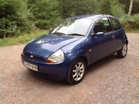 FORD KA 1.3 Zetec Climate. Only 52,400 miles. 2008