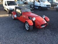 Westfield kit car 12 000 mile ford Mexico 12 month mot road regersted