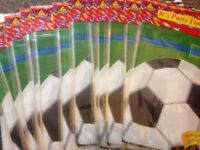 Football party bags brand new in packs 6 packs £3.00