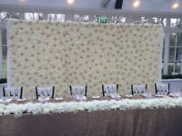FLOWER WALLS / BACK DROPS/ ARCHES/ CANDLE WALL