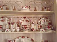 Royal Albert dinner.tea service