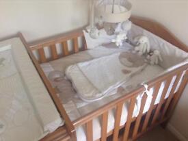 Next 'my first friends' bear nursery bedding bundle