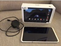 """Hudl 2, 8.3"""" full screen, 16GB, white, excellent condition, original box and charger"""