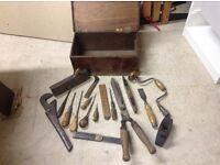 Vintage Woodwork tools