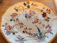 Large English Bone china plate Wedgewood