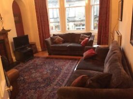 2BR + boxroom first floor flat Morningside, Edinburgh for rent