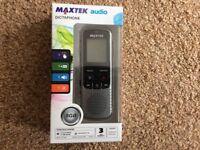 Brand new Maxtek Dictaphone