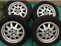 "15"" Genuine BMW 3Series Alloy Wheels"