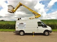 Cherry Picker with operator hire Fife, Edinburgh, Scotland