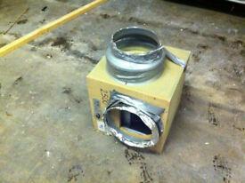 tornado silent acoustic wooden box fan
