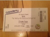 2x standing tickets BUSTED Glasgow 26th £50