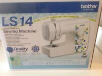 New Brother Sewing Machine LS14 - used once.