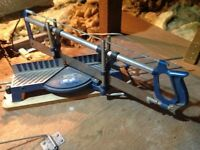 Mitre Hand Saw and a Pair of Sash Clamps.
