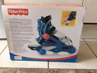 Fisher price inline skates with box and extras - only £5!