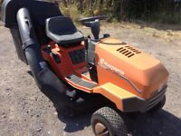 Husqvarna ride on lawnmower