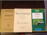 3 Sheet Music items for Trombone and Piano