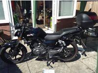 125cc Worx motorcycle. Low mileage, ideal 1st bike. 64 plate 2015 model