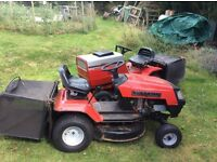"Ride on lawn mower. Lawnflyte MTD 30"" cut. Recently fully serviced"