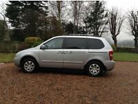 Kia Sedona 2902 cc Mobility adapted, wheelchair passenger upfront. Disabled driver six way seat.