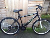 Apollo Slant shimano equipped mountain bike, 26 Inch Wheels only been used about