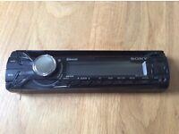 Sony xplod MEX-BT3100U Bluetooth audio system CD MP3 Bluetooth calls and music link to smartphone