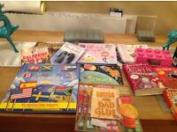 Mixture of children's games and books, to be sold all together
