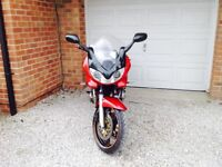 2002,Suzuki bandit 600 ,GSf,mk 2,long mot,ser his,a2 ready with certificate of fitting ,ready to go