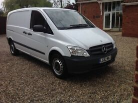 Mercedes Vito 113 CDi SWB Panel Van. 2013 ****NO VAT****