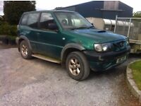 Nissan Terrano for sale, 4x4, jeep