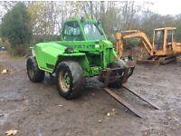 Merlo telehandler p28.7 tractor loader forklift